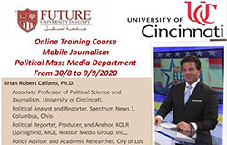 Online Training Course: Mobile Journalism
