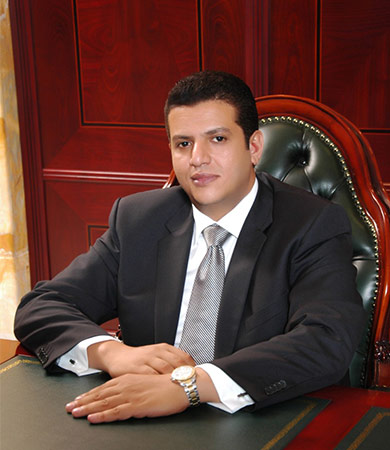 Khalid Azazy, Chairman of the Board of Trustees of the Future University in Egypt: We've achieved great success in interactive education, and we're keen to keep up with technological development.
